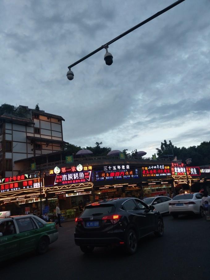 第三站:乐山杨公桥美食街美食的做法古老传统图片