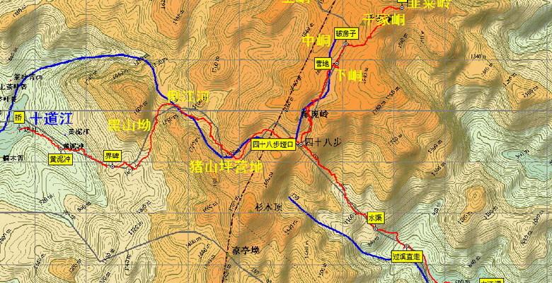 灌阳新街镇地图