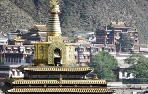 拉卜楞寺图片