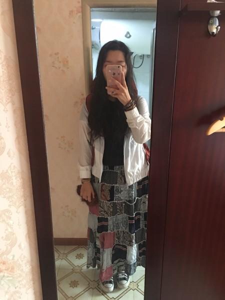 女生徒搭318川藏线回忆录