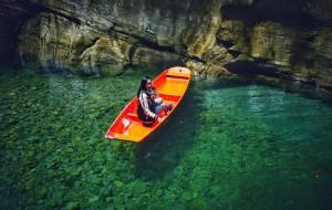 【恩施图片】中国的仙本那--湖北鹤峰屏山峡谷 躲避峡
