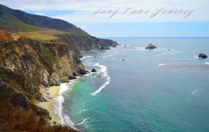 【一号公路图片】加州一号公路(大苏尔,赫斯特城堡,圣西蒙,莫罗湾,丹麦小镇)---加州自驾游第4站