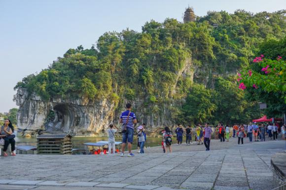 广西桂林国家森林公园路标图片展示