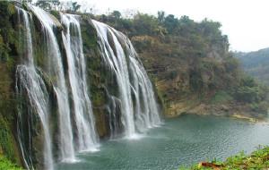 【黄果树瀑布图片】游遍中国自由行----2013年春节游二十一天行程之(贵州黄果树景区)