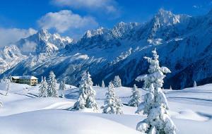 法国娱乐-法国霞慕黑滑雪场