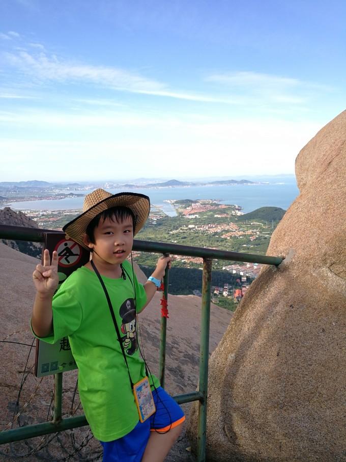 青岛风景人物