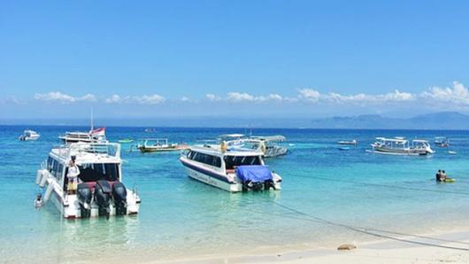 蓝梦岛一日游 海底漫步含照片 浮潜 海上滑梯 独木舟