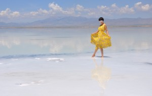 【乌兰图片】茶卡盐湖:以盐为镜,折射红尘(青海行之五)