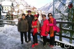 东欧六国之旅...游世界自然与文化遗产奥地利最美小镇哈尔斯塔特记