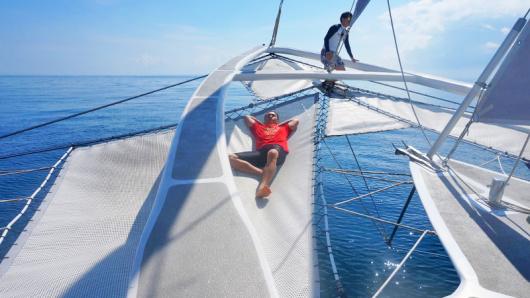 巴厘岛 蓝梦岛一日游(豪华双体帆船 恶魔的眼泪 梦幻海滩 地洞)