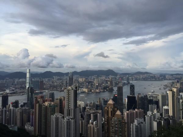 徒步山顶广场(港岛径第一段)--香港游记--蚂蜂窝