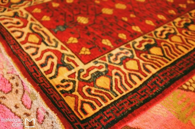 色块现代风格地毯素材