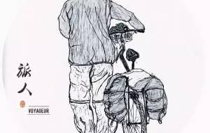 【堂安图片】手绘版旅行简纪——遇见旅行,遇见自己