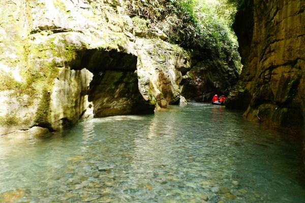 湖北鹤峰屏山峡谷