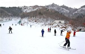 烟台娱乐-塔山滑雪场