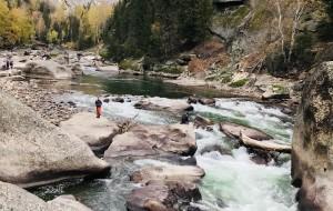 【可可托海图片】对你爱,爱不完之北疆赏秋之旅 一步一景美轮美奂的可可托海钟山峡谷
