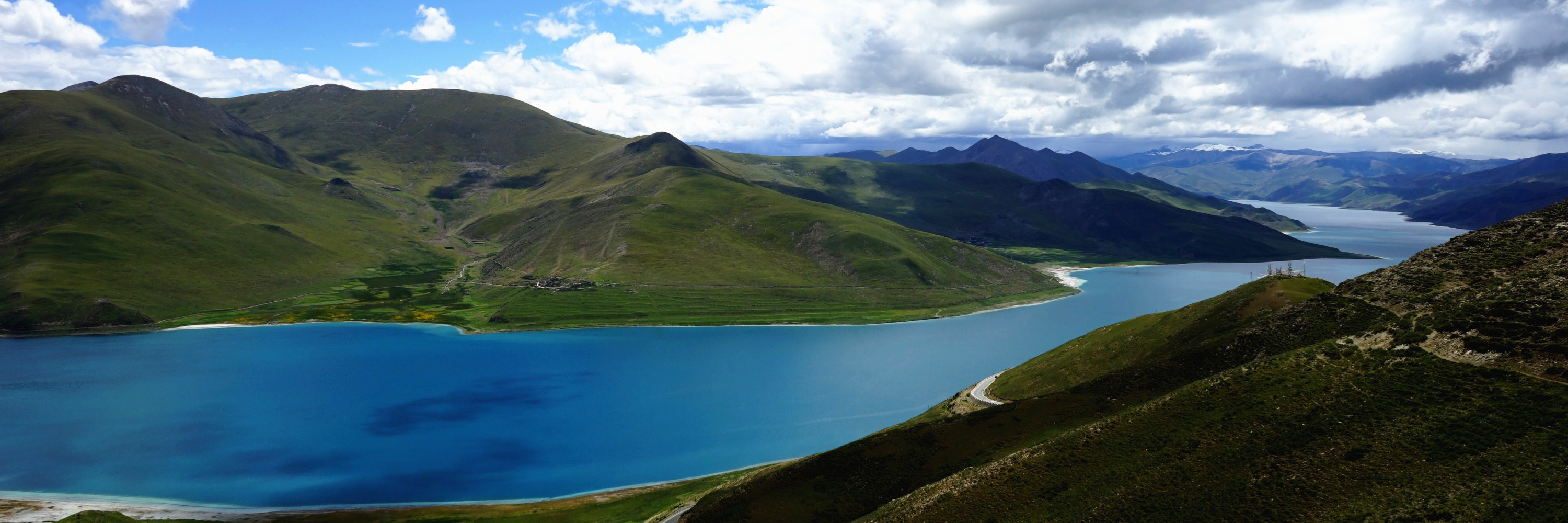 tibet yamdrok lake tour