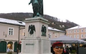 【奥地利图片】东欧六国之旅...游奥地利莫扎特故居及塑像风景区记