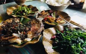 西双版纳美食-阿苗土菜馆传统傣味