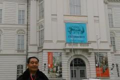 东欧六国之旅...外观维也纳国家剧院及街景随拍