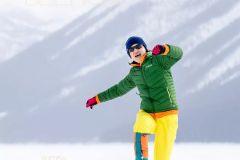 奔跑在班夫的白色世界(冬日加拿大自驾03)