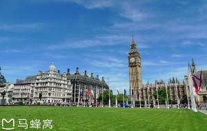 【伦敦图片】2017年6月 英国、爱尔兰之旅 (2):伦敦白金汉宫、国会大厦、大本钟外观及市容