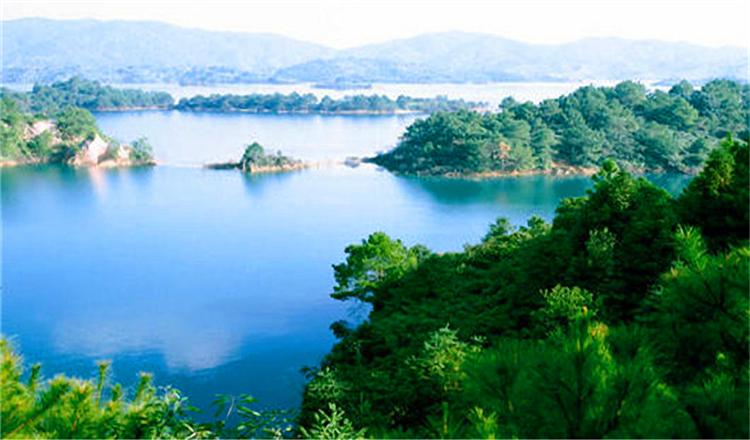 广东 河源万绿湖风景区
