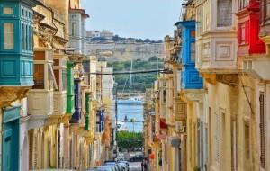 【马耳他图片】马耳他的黄与蓝