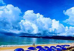 三亚亚龙湾海滩