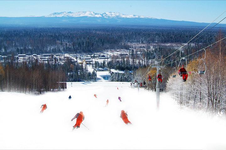 大连滑雪门票 林海滑雪场 日场 夜场 戏雪 立即出票