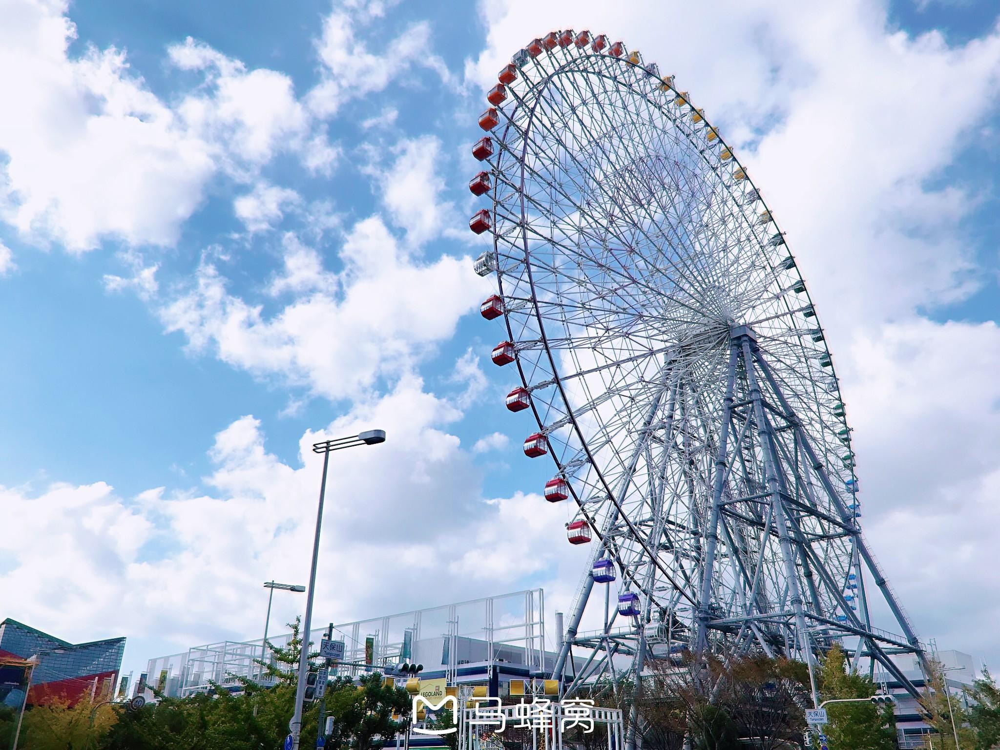 【大阪景点图片】天保山摩天轮