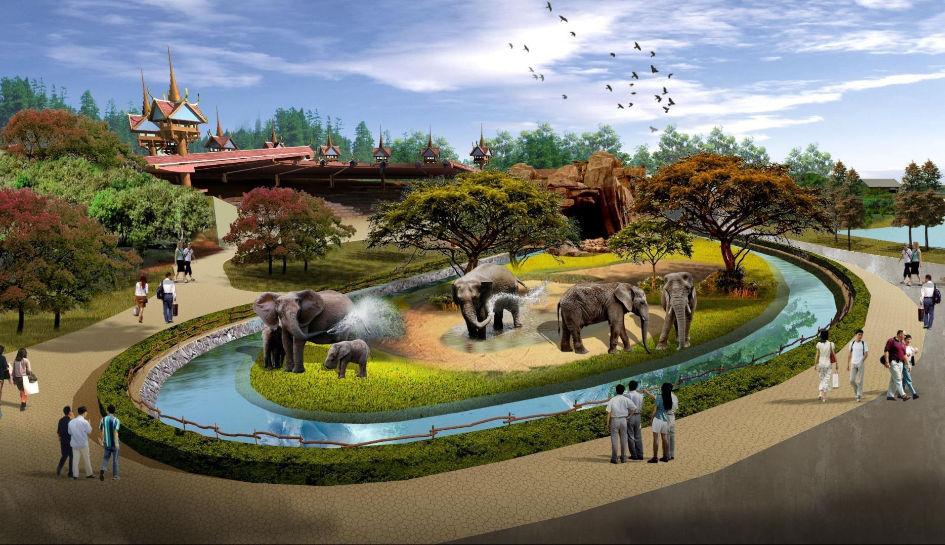 南通森林野生动物园 成人票(不含自驾车)