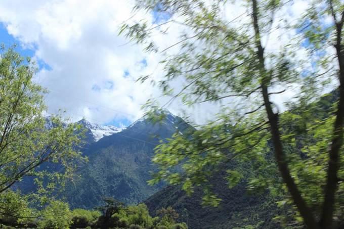 西藏的5a級自然風景區:巴松措