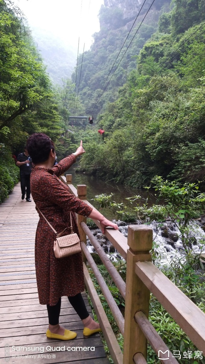 tingtingwuyuntian_举世无双的云天渡(yuntiandu glass bridge)