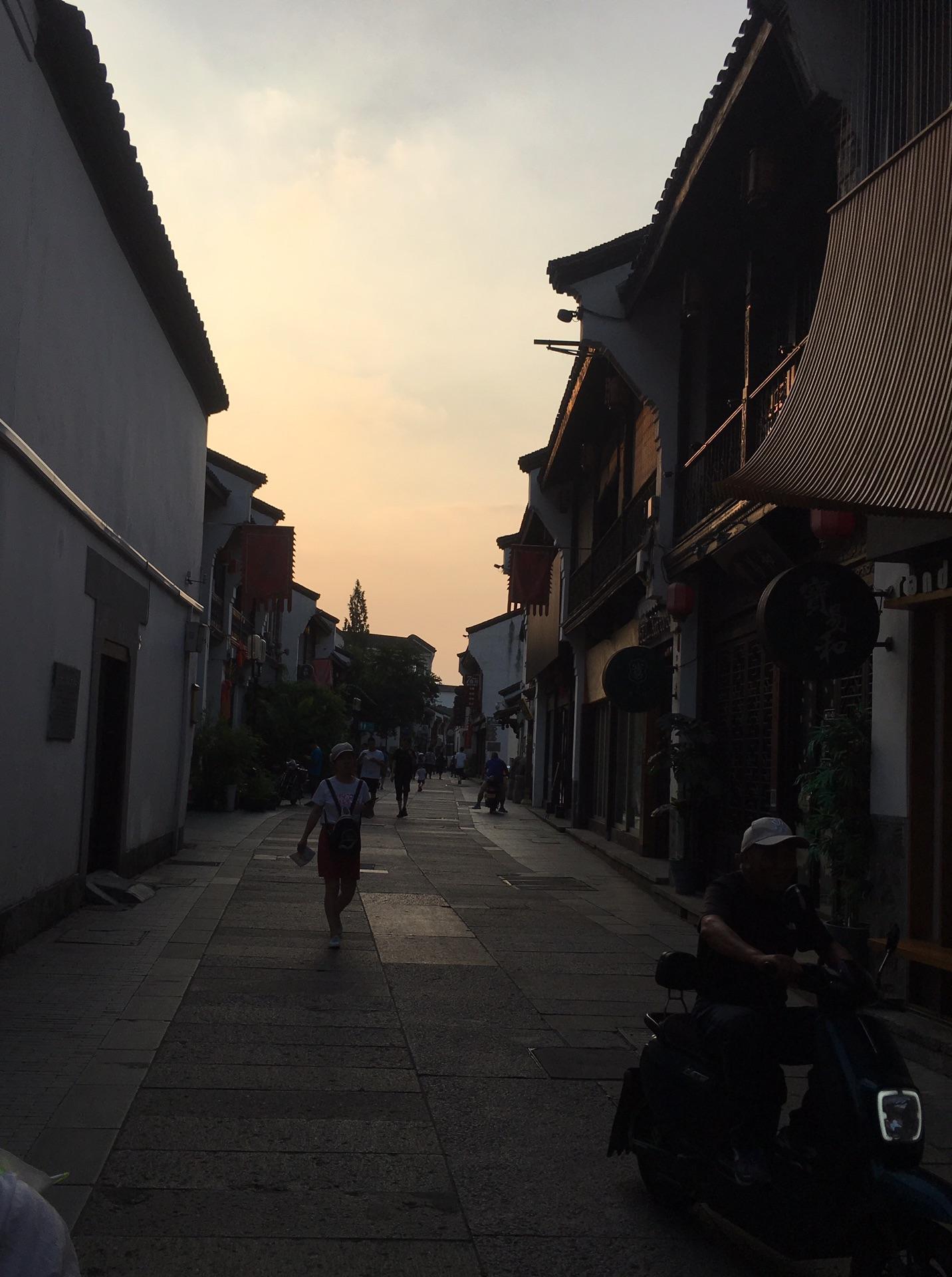 杭州四天三夜游玩.第一天~清河坊历史街区