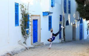 【突尼斯图片】突尼斯——蓝白小镇