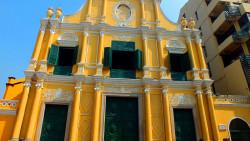澳门景点-玫瑰堂(St.Dominic's Church)