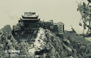 【九华山图片】剑指十王峰——九华后山风雪穿越并宏村游记