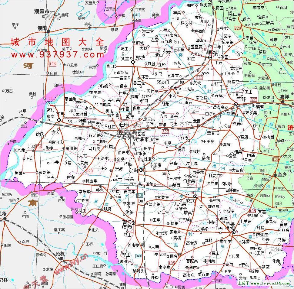 容易与山东的郓城-宋江故乡相混淆图片