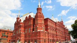 莫斯科景点-国家历史博物馆(State Historical Museum)