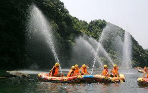 黄山娱乐-颜公河漂流