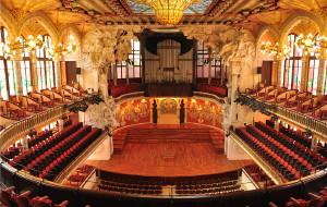 西班牙娱乐-加泰罗尼亚音乐厅