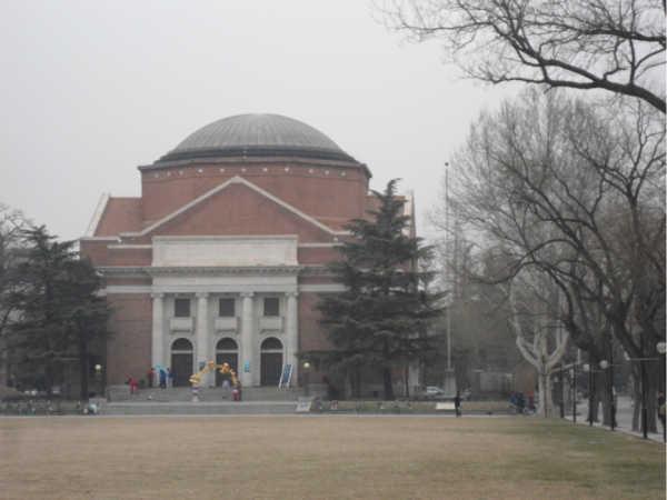 初春时候的北京,清华北大校园春色