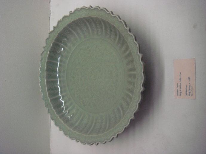 皇宫用的盘子手绘