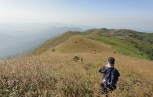 【云顶图片】那一天,我们追着太阳的脚步——记10月17日四方山一日自虐行