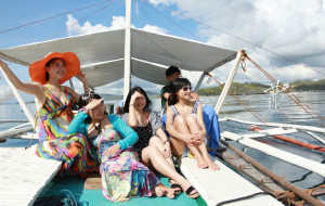 【巴拉望图片】[越走越远]2013菲律宾之科隆,意外的生日礼物