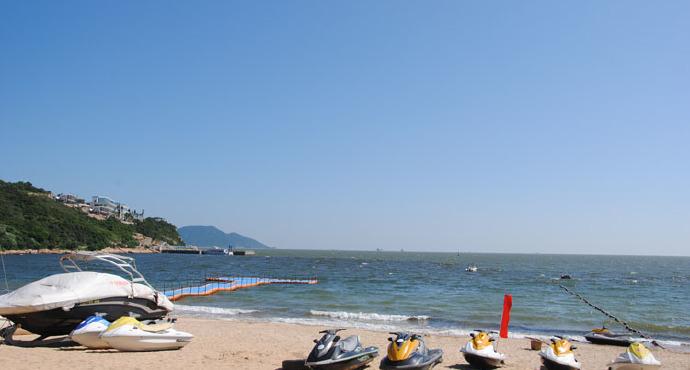 南沙湾位于广东省珠海 万山群岛,是万山群