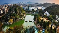桂林景点-西山公园