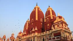 新德里景点-拉克希米纳拉扬印度教寺庙(Laxmi Narayan Mandir)