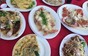 兰卡威美食-强师傅海鲜饭店